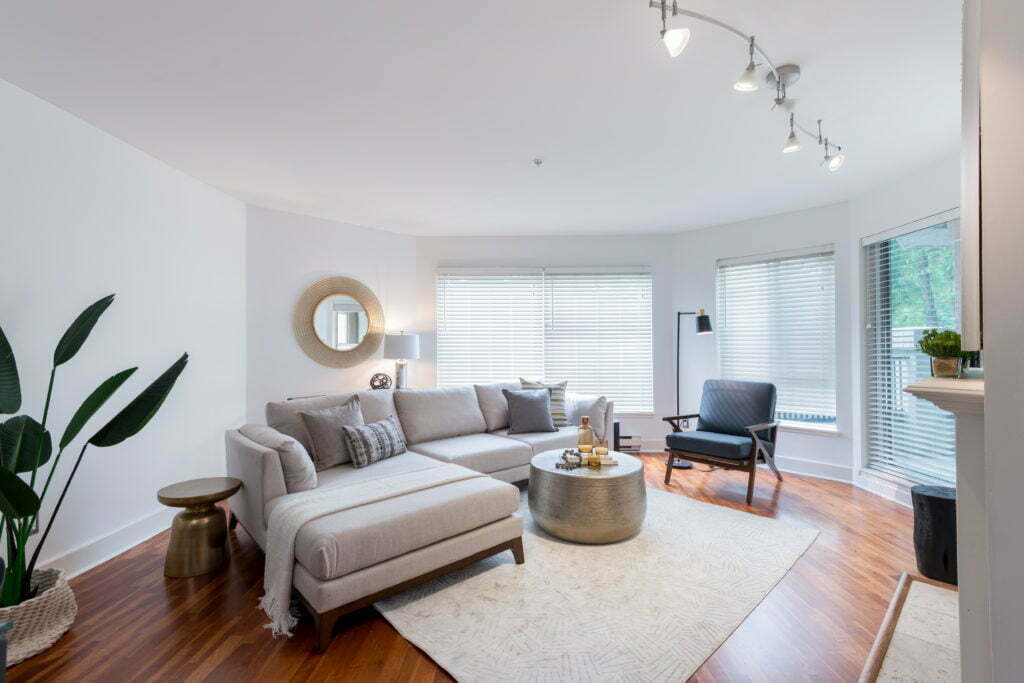 Beautiful condo after minor repairs and home staging